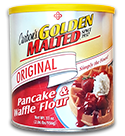Golden Malted Original Hotel Waffle Mix